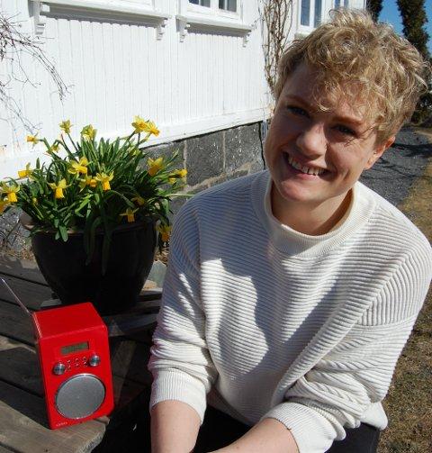 TIL TOPPS: – Jeg har fått mange gratulasjoner, alt fra folk jeg har mistet kontakten med fra studiedagene til kontaktlæreren min fra ungdomsskolen, forteller Marianne Timby Hartvåg. Her er hun hjemme i Sandefjord 2. påskedag.