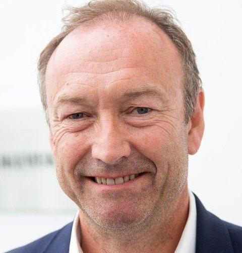 Knut Morten Johansen er kommunikasjonssjef i SAS.