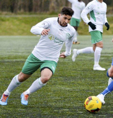 Scoret: Dawoud Al-Aanazi sørget for 3-1-målet til Mysen.