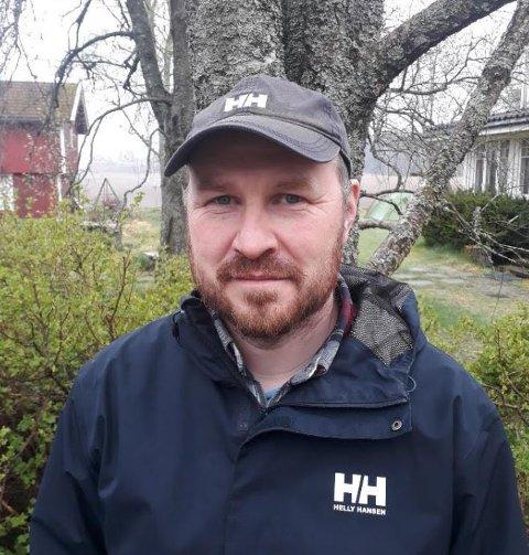 Asbjørn Veidal er leder i FAU ved barnetrinnet på Knapstad barne- og ungdomsskole.