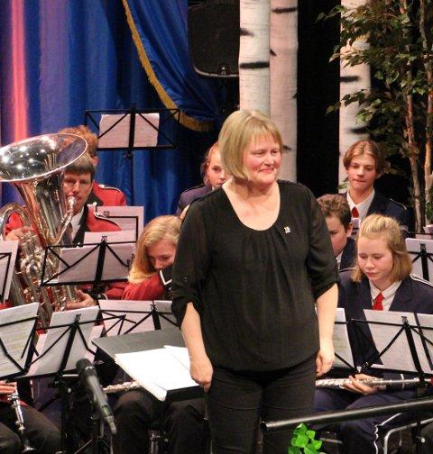 Dirigent under framføringa på Tynset var Signe Marie Feragen.