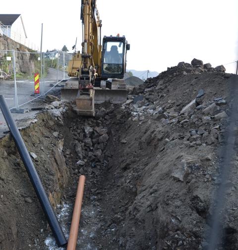 VIKTIG: Infrastruktur som vei, vann og kloakk er viktig både for utbyggere og kommunene. Nå vil Flekkefjord kommune ha avtaler som sikrer at kommunen kan sende regningen videre til utbyggere av nye områder.