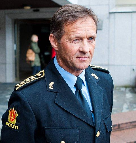 Politistasjonssjef ved Bergen sentrum politistasjon, Olav Valland.