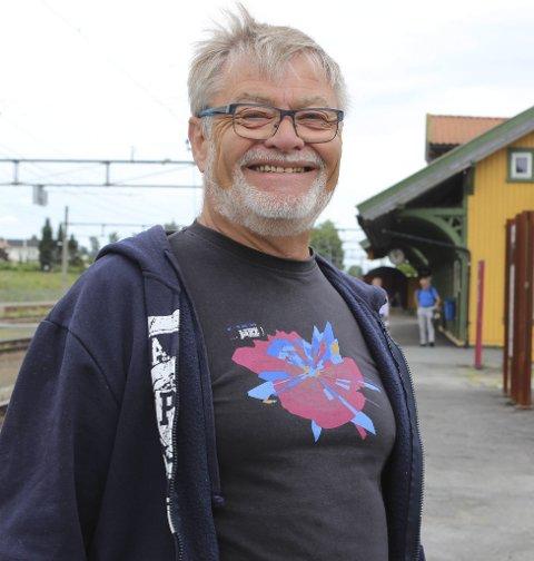 STYRELEDER: Yngvar Arnesen har stått på for å få folk til å stille.