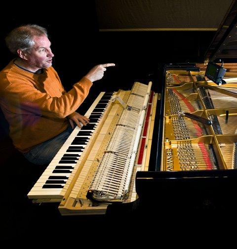 RÅDGIVER: Pianostemmer Yngvar S. Pettersen har vært rådgiver i flygelsaken.
