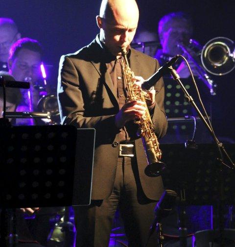 Saksofon: Strålende på sax, Frode Nymo.