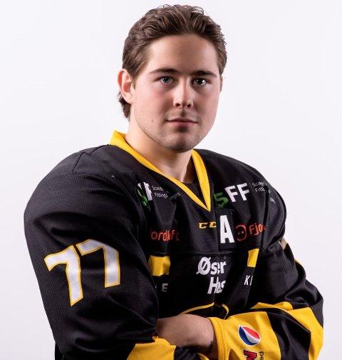 KLAR: Connor Klees kommer fra Stavanger Oilers til Narvik hockey.