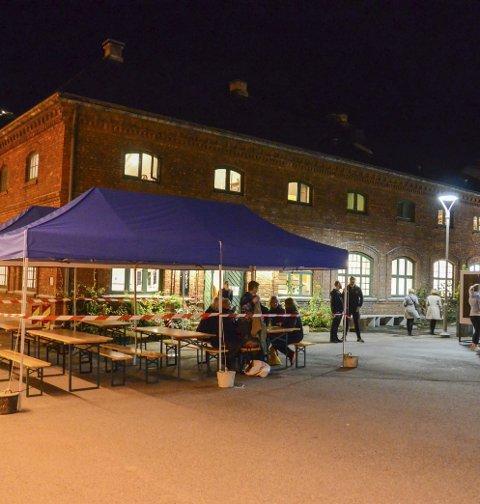 Sentralbadet litteraturhus: Inviterer til felles valgvake. Arkivfoto: Ernst Olsen