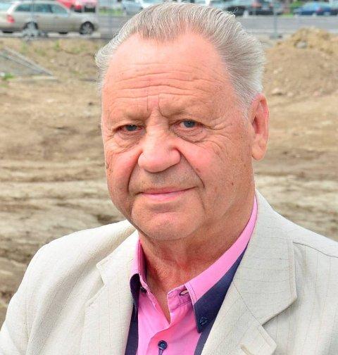 Døde fredag kveld: Tidligere Indre-redaktør Per Erik Nilssen døde fredag kveld, 82 år gammel. Foto: Øyvind Henningsen