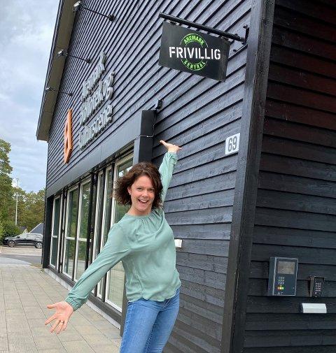"""BEHOV: Prosjektleder Trine-Lise Thue ser at ungdommen i Aremark har et behov for et fritidstilbud som """"Levende Aremark""""."""