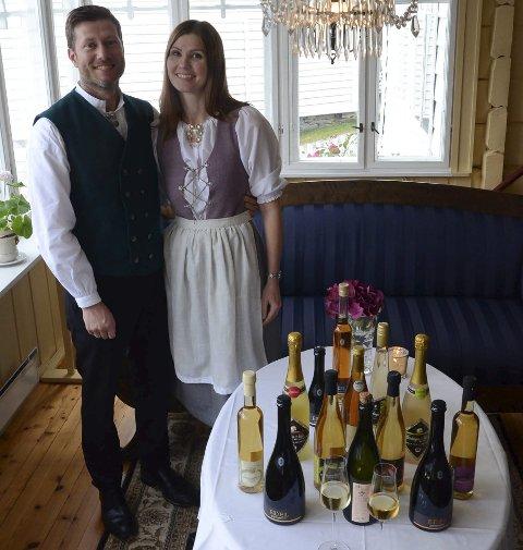 Utne Hotel: Bente Raaen Widding og Kjetil Widding på Utne Hotel har satsa stort på sider.