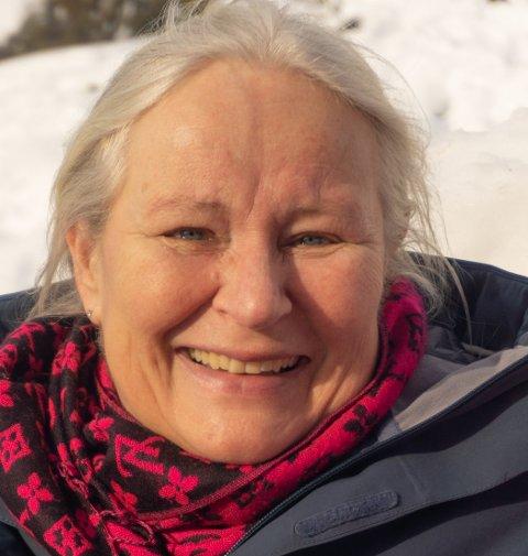 GLEDER SEG: Cathrine Nordlie er styreleder for Kongsberg Steinerskole.