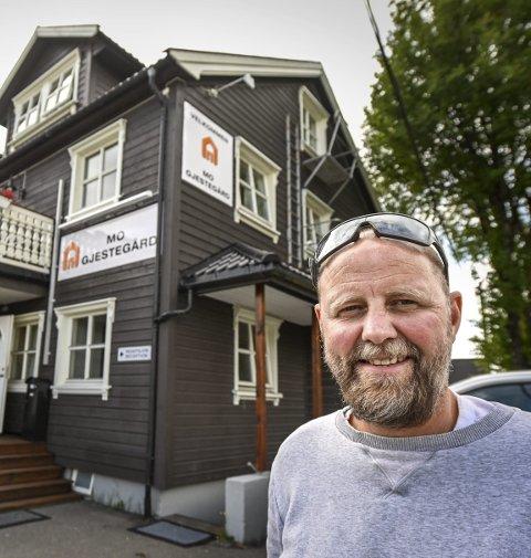 Nyoppusset: Mo Gjestegård er oppgradert og har fullt belegg, forteller Lars Petter Falch Larsen, ved Zar Eiendom.