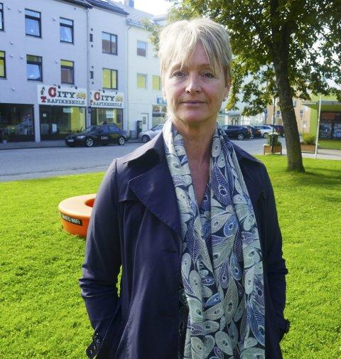 Tove-Lise Torve er inne på Mørebenken på siste måling.