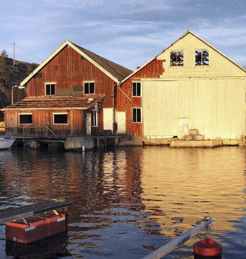 Rives: Båtbyggeriet ble opp- ført på 1940-tallet av Egil Bjørn-Hansen. foto: Ida Monrad Haugen