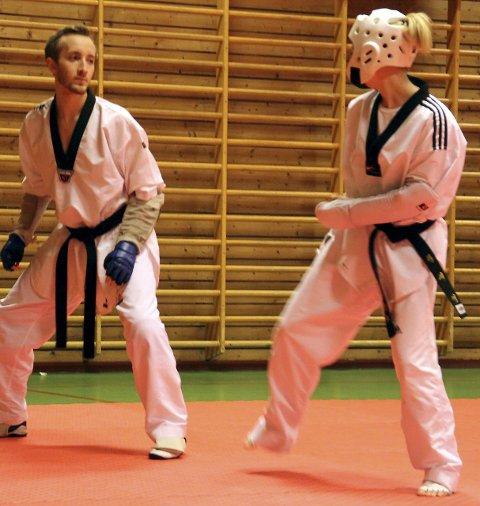 Taekwondo: Nesodden Taekwondo har hatt utallige treninger i gymsalen på Tangenåsen. Arkivfoto