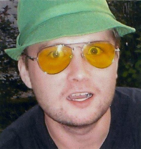 Eit bilete frå 2004 då han var i ein manisk periode. Hasj- og amfetaminbruk var blitt ein del av hans identitet.