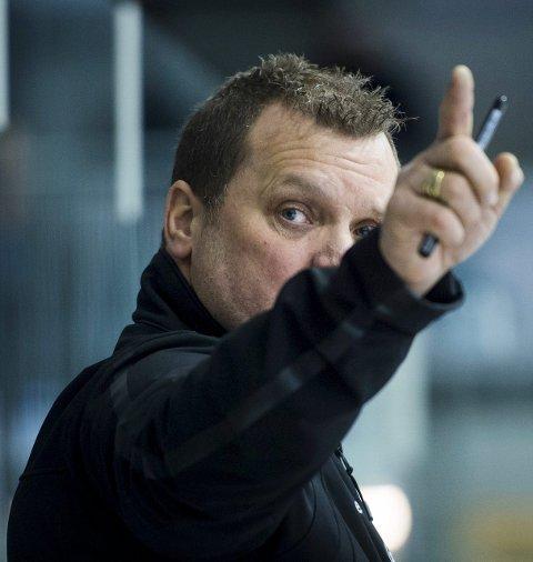 SERIEFINALE: Magnus Sundquist og hans Tingsryd tok første stikk i finalen mot AIK.