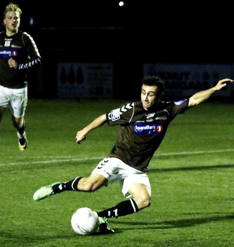 SLO SARPSBORG: Ørn vant 4-2 i Lystlunden mandag kveld.