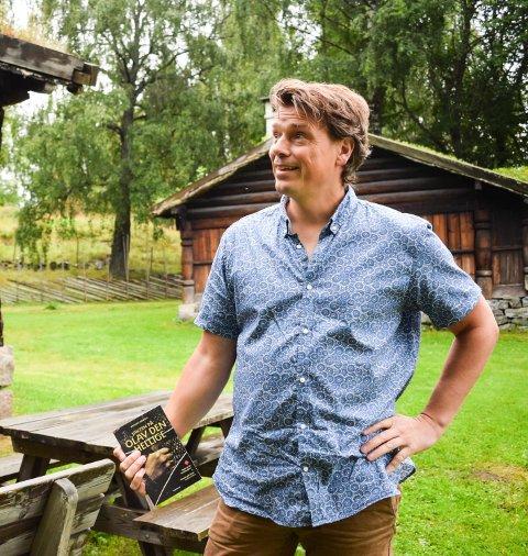 FESTTALER: Øystein Morten fra Veggli skal snakke om Olav den hellige.