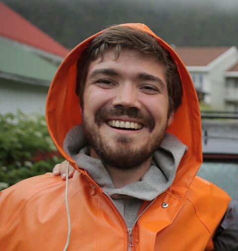 Filmskaper: Truls Krane Meby (33) fra Svolvær har fått støtte til to filmprosjekt, som finner sted i Lofoten.