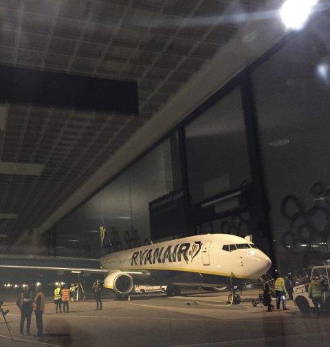 Fortsetter opp: Ryanair bare øker og øker. Nedstengningen på Rygge ser ikke ut for å ha hatt noen negativ effekt.