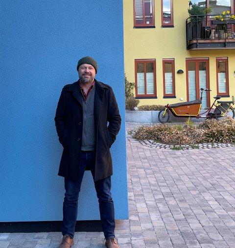 – Det vi bygger nå bør vi kunne være stolte av om 100 år. Byarkitekten skal bidra til at vi får tatt det løftet, sier Rasmus Reinvang som er byutviklingsbyråd i Oslo. Foto: Herman Søndenaa