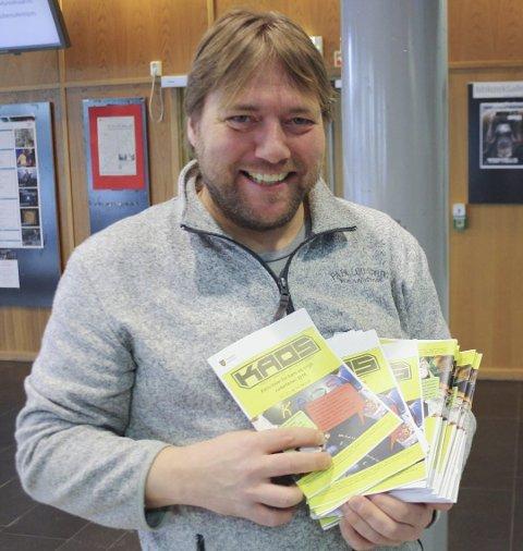 KAOS: Christian Lund er stolt av å kunne arrangere masse aktivitet for ellevte gang.