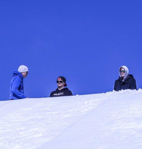 Arnt Sæther, Christoffer Hove og Martin Rasinger mener en bag jump vil ha store ringvirkninger.
