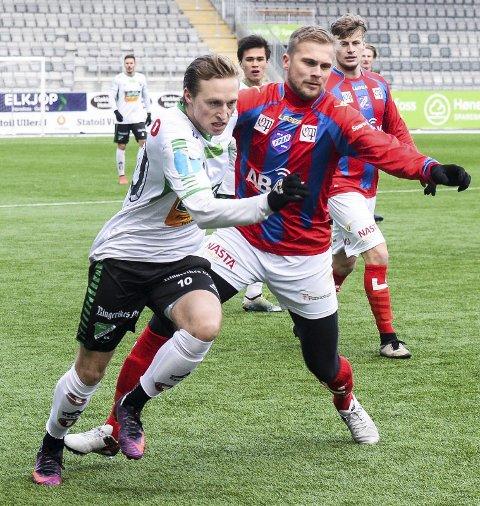 Andreas Skattum Nordby scoret tre mål da HBK 2 slo Svelvik mandag. Arkivfoto