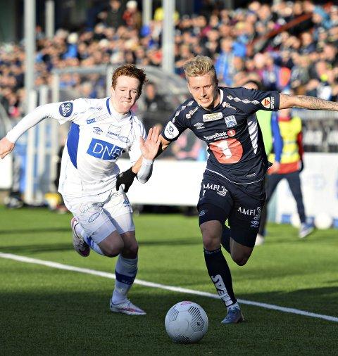 Daniel Berg spilte 39 kamper for KBK og scoret fem mål for klubben, som den gangen spilte i OBOS-ligaen.