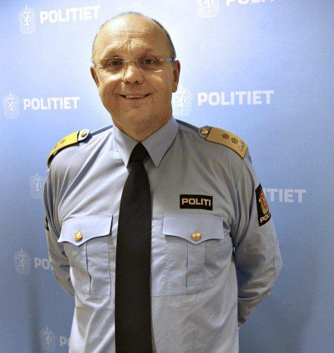 Politimester Ingar Bøen i Møre og Romsdal politidistrikt.