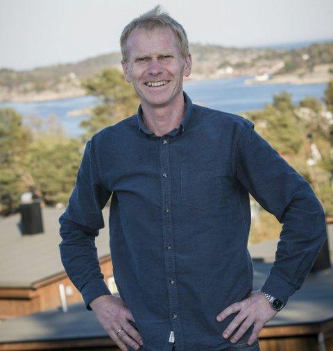 Politiker: Geir Svenningsen har blitt en aktiv politiker etter at han flyttet fra Tvedestrand. Foto: Ole Jørgen Malmgård