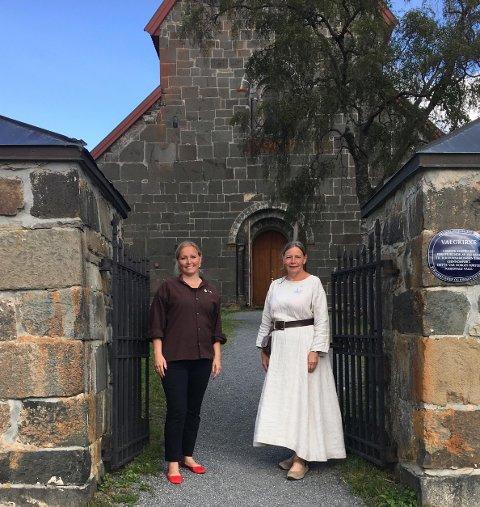 OLSOK: Jane Dahl Sogn og Kari Røken Alm.
