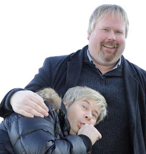 SHOWDUO: Arne har hatt fleire show saman med oddingen Roar Brekke. Her frå 2012.Arkivfoto