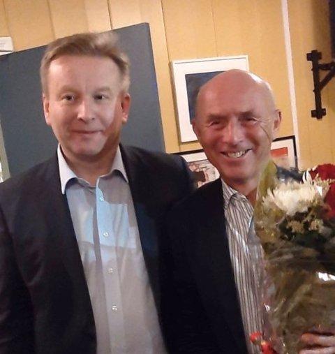 Espen Løken og Jan Synnestvedt