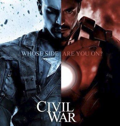 I den nyeste Marvel-filmen oppstår det konflikter mellom heltene.