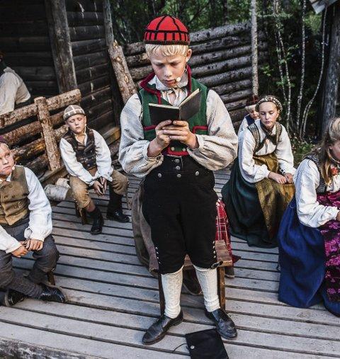 Uelsket: Unge Bjørn (Lavrans Rue) vinner ikke hjertet til mari.