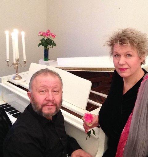 Hanne-Mary Stuwe og Palle Wagnberg