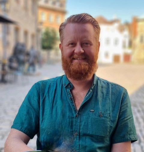 Jens-Erik Aasbø er for tiden i Tyskland og jobber med en av de største forestillingene han noensinne har vært med på.