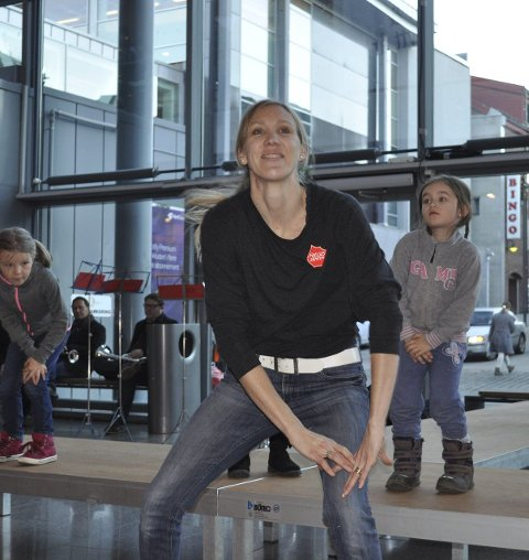 Dans: Kulturskolen fremførte livlig dans.
