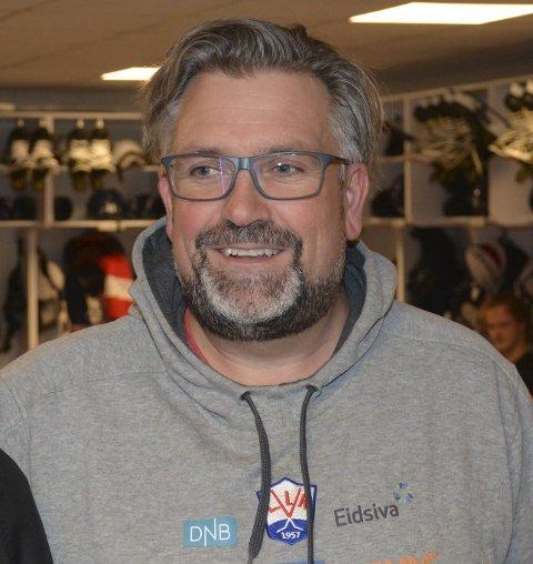 Gleder seg: Atle Svensrud fra Lismarka er sportslig leder i L.I.K.