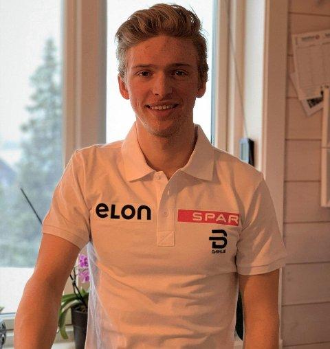 TALENT: Jon Rolf Skamo Hope har de tre siste årene bodd på Beitostølen. I helga ble han U 23-verdensmester i Finland.