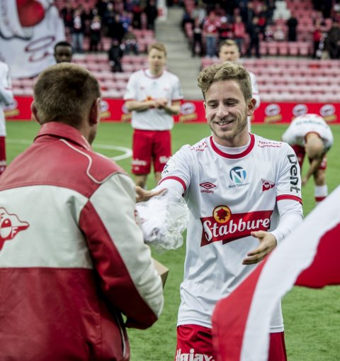 INGEN AVKLARING: Ludvig Begbyble årets spiller i 2016, men er fortsatt usikker på sin egen fremtid. (Arkivfoto)