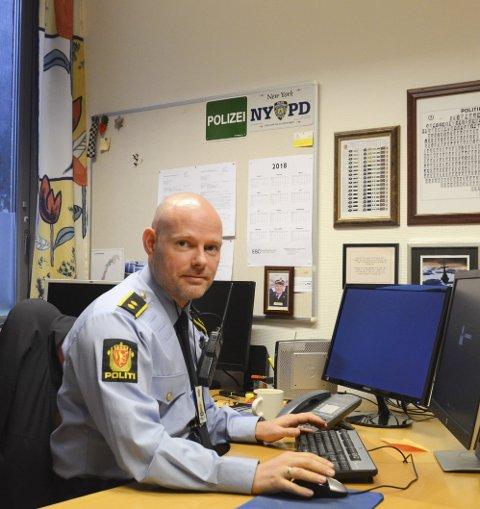 Etterforskingsleiar Paul Henriksen i Hardanger lensmannsdistrikt