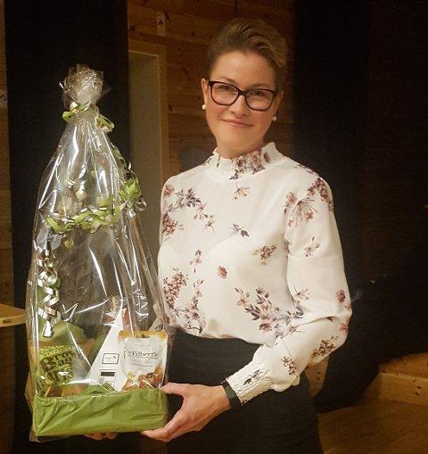 GJENVALG: Helene Ågedal er gjenvalgt som leder i Konsmo IL.