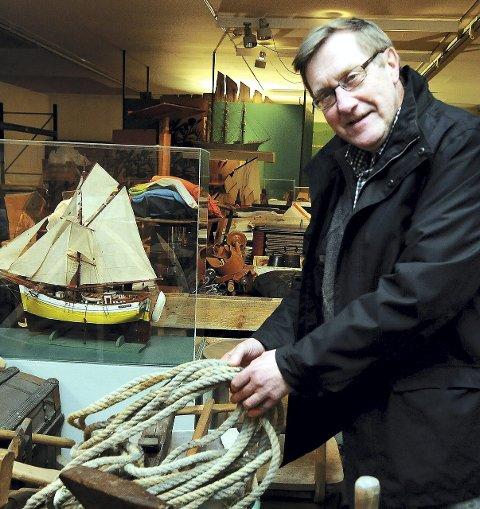 Einar Lund er styreleder i Stiftelsen Nordmøre Museum. Arkivfoto