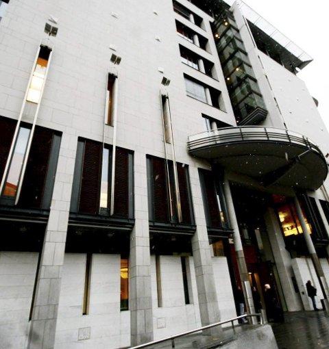 Oslo tingrett: Det var her i Oslo tingrett dommen falt i går. Ankefristen er ikke utløpt.
