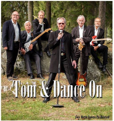 TIL ROCKHOUSE: Tom Finsdal og Dance On.