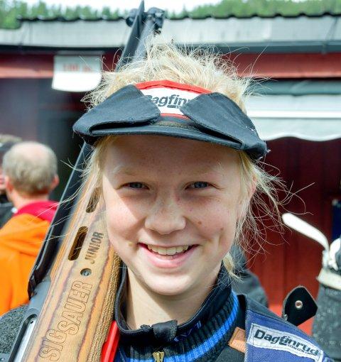 Kari Mørck har igjen skutt bra på Landsskytterstevnet.
